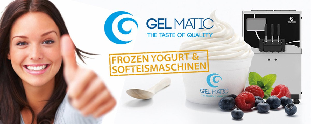 Frozen Yogurt & Softeismaschinen